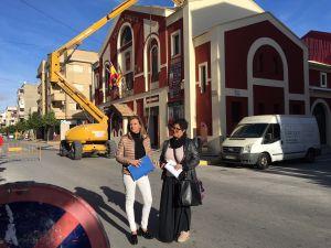 El Ayuntamiento de Almoradí invierte 70.000 euros en mejoras estructurales del Teatro Cortés