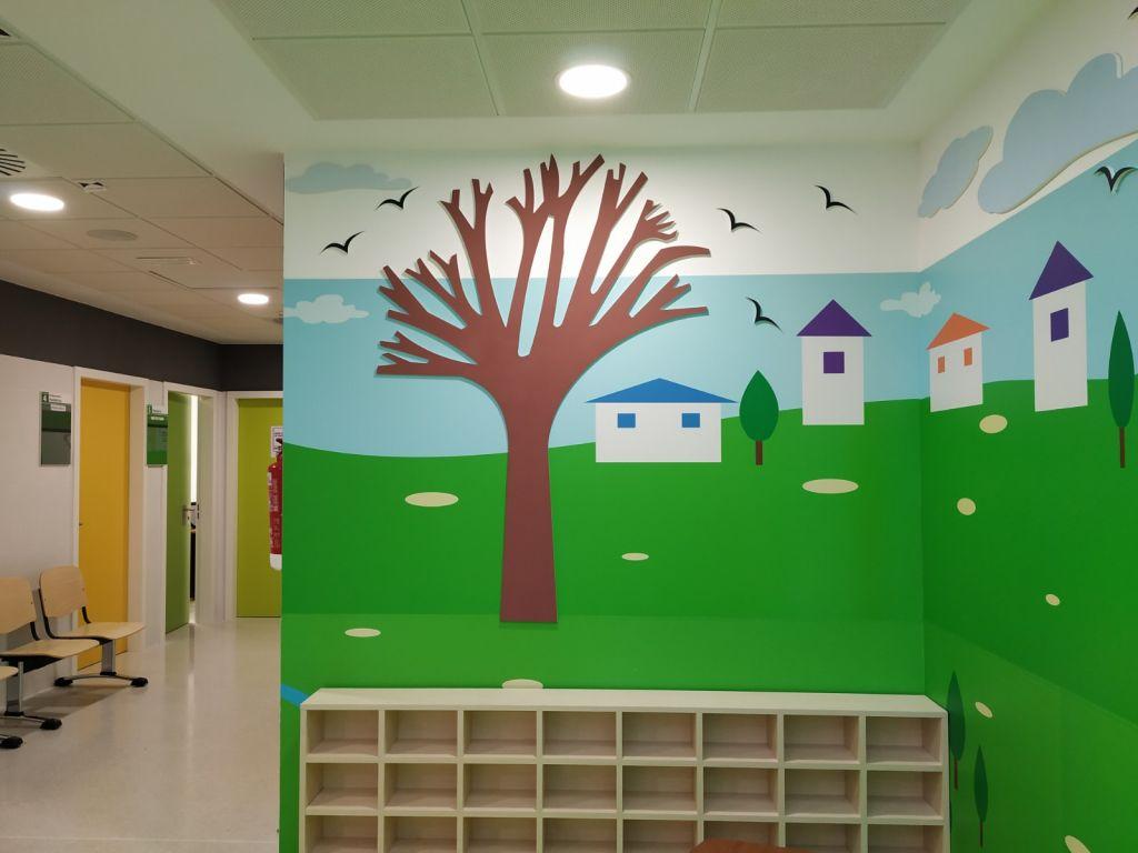 Área de pediatría del Centro de Salud del Rabaloche