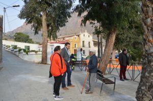 Infraestructuras pone a punto el barrio de San Antón para sus fiestas