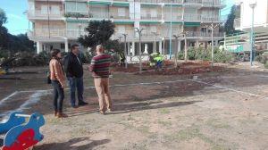 Adecuación de zonas verdes en Punta Prima