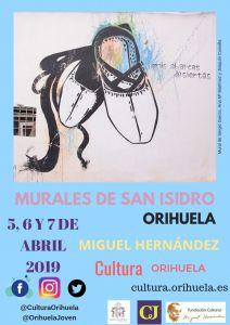 Los Murales de San Isidro en homenaje a Miguel Hernández se celebrarán el 5, 6 y 7 de abril y los inaugurará el concierto de El Canijo de Jérez