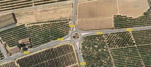 La Generalitat eliminará el peligroso cruce de la CV-95 con la carretera de Los Montesinos