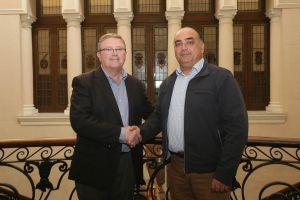 El Consorcio y el Ayuntamiento impulsan el nuevo parque de bomberos de Orihuela