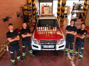 Un bombero de Almoradí obtiene seis medallas de oro en una competición internacional de Emergencia y Rescate