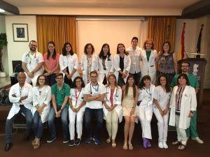 El Hospital Vega Baja acoge a 19 nuevos residentes que se formarán en las diferentes especialidades