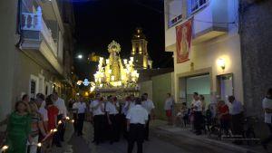 Devoción y fervor por la Virgen del Carmen de Cox