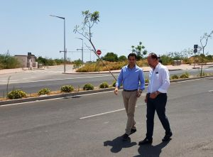 La apertura de un nuevo vial aliviará el tráfico de la CV-95 al poder conectar la carretera con Orihuela Costa