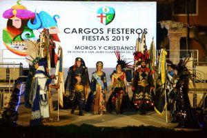Guardamar abre sus fiestas con un emotivo pregón, la presentación de los cargos festeros y la escenificación de la Leyenda de la Encantá