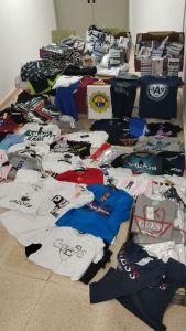 Incautan en Los Montesinos 300 productos presuntamente falsificados en el mercadillo semanal