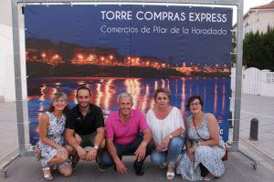 Los comercios de Pilar de la Horadada llegan a la costa con 'Torre Compras Express' 2019