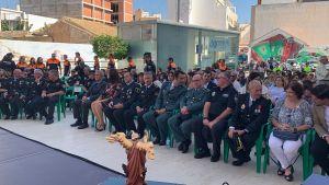 Pilar de la Horadada celebra la festividad del patrón de la Policía Local
