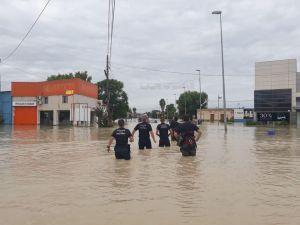 Dolores suspende las clases hasta nuevo aviso tras los destrozos causados por el temporal