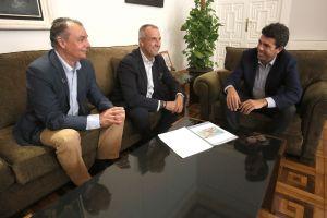 La CEV traslada a Carlos Mazón su apoyo para que se investigue la gestión de la Confederación Hidrográfica del Segura