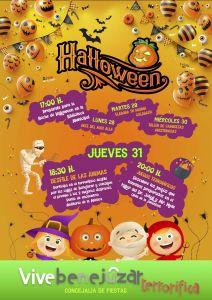 Actividades para Halloween hasta el jueves 31 bajo el lema 'Vive Benejúzar terrorífica'