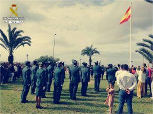 La Guardia Civil recibe en Daya Nueva y en Torrevieja homenajes su 175 aniversario