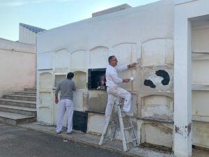 Benejúzar invierte unos 5.000 euros en adecentar el cementerio