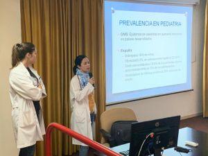 El Hospital Vega Baja imparte ciclos de charlas sobre obesidad infantil para toda la familia