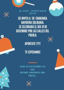 El CEIP Trinitario Seva organiza una charanga navideña para recaudar fondos contra el cáncer infantil