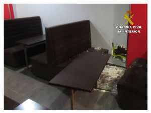La Guardia Civil detiene a dos hombres por robar a la fuerza en cafeterías de Callosa de Segura