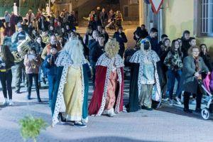Benferri se ilumina con la magia de los Reyes Magos