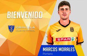 El madrileño Morales, nuevo arquero del Orihuela CF
