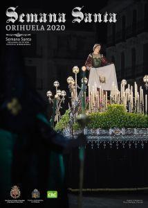 La Verónica de la Cofradía del Perdón protagoniza el Cartel de la Semana Santa oriolana 2020