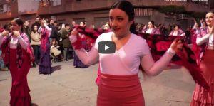Danza, historia y magia en la cabalgata de los Reyes Magos de Almoradí