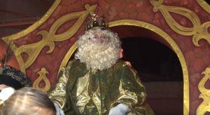 Dolores recibe con gran ilusión la llegada de los Reyes Magos de Oriente