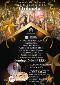 El Comercio oriolano celebra el Día del Roscón el próximo domingo con diferentes actividades