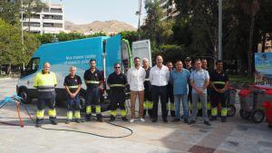 El Ayuntamiento arrenda un local para albergar maquinaria pequeña del servicio de Limpieza Viaria y RSU