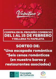 """El comercio de Orihuela celebra el """"Día de San Valentín"""" con diferentes sorteos para incentivar las compras"""