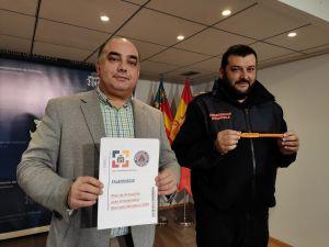 Emergencias presenta su amplio dispositivo durante la celebración del Mercado Medieval 2020