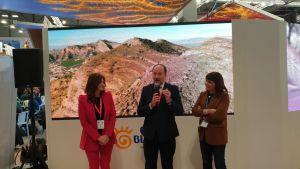 Orihuela presenta su vídeo promocional de turismo activo y su oferta gastronómica durante la primera jornada de FITUR 2020
