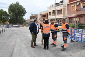 Renovación de las redes de agua potable y alcantarillado en calle Charamita y adyacentes