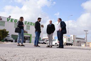 Urbanismo e Infraestructuras mantienen una reunión de trabajo con la Asociación de Empresarios del Polígono Industrial Puente Alto