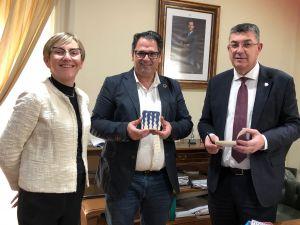 El presidente de Les Corts Valencianes visita Dolores