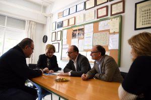 La redacción del proyecto de ampliación del IES Tháder comenzará en los próximos días