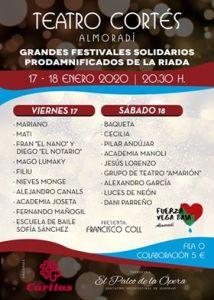 Cáritas organiza en Almoradí un concierto a favor de los afectados por la DANA