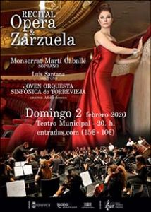 Monserrat Martí Caballé actuará en Torrevieja junto a la Joven Orquesta Sinfónica
