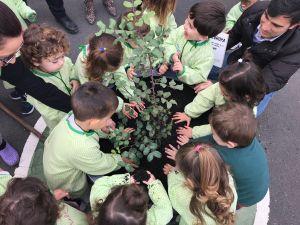 Más de 70 niños de la Escuela Infantil de Bigastro realizan su Marcha por el Clima