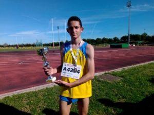Aymen Smaili, de la EDM Orihuela, se clasifica para el campeonato nacional de cross