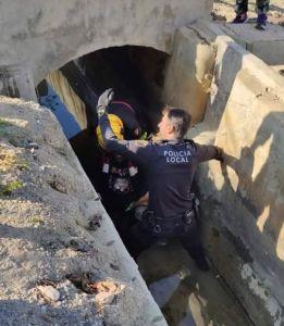 Herido un joven tras caer accidentalmente en una acequia en Almoradí