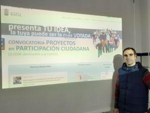 Rafal destina 10.000 euros para llevar a cabo proyectos propuestos en los presupuestos participativos