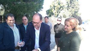 Comienzan las obras de acondicionamiento del Camino de Los Grillos de La Murada