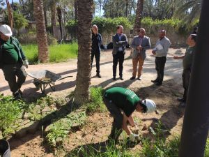 Un taller de empleo da trabajo a 20 personas para rehabilitar el polideportivo tras la DANA