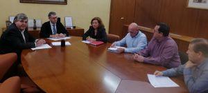 La alcaldesa de Almoradí exige a la CHS vigilancia permanente  en la 'zona 0' hasta que concluyan las obras