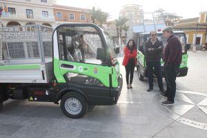 Guardamar inicia  la renovación de su parque móvil con la adquisición de dos vehículos eléctricos
