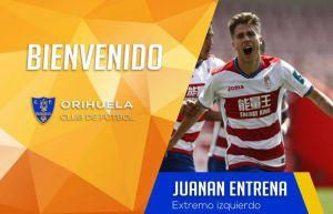 Los delanteros Pallarés y Entrena, últimos fichajes del Orihuela CF