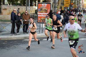 Dominio magrebí en la media maratón oriolana