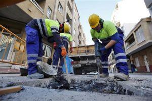 Comienzan las obras de alcantarillado en la calle Antonio Machado, con una inversión de 154.000 euros